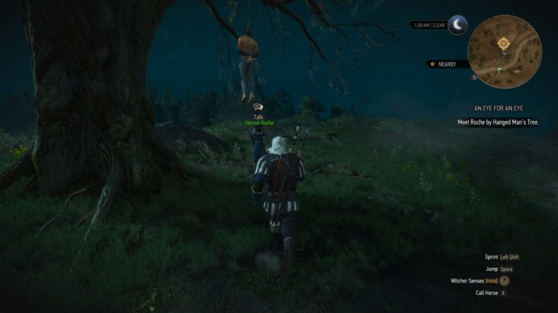 the witcher 3 - an eye for an eye quest guide