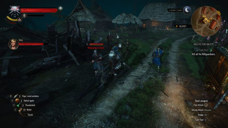 the witcher 3 - an eye for an eye wiki
