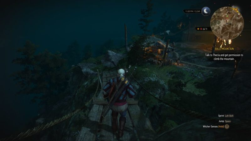 the witcher 3 - bald mountain quest