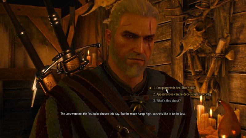 the witcher 3 - bald mountain quest walkthrough