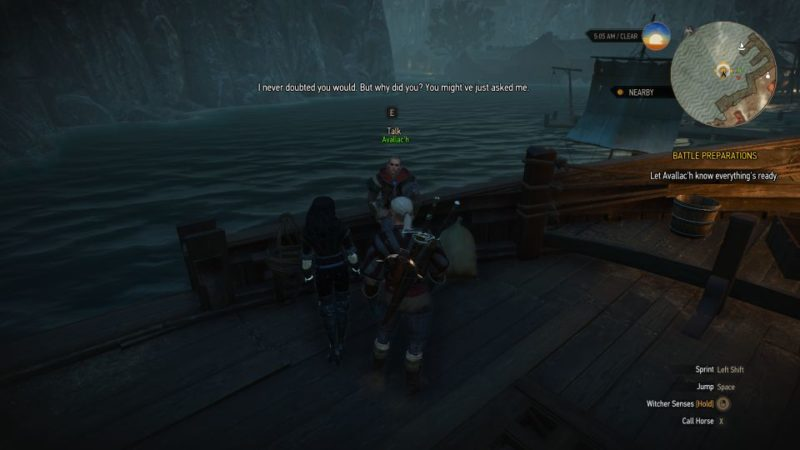 the witcher 3 - battle preparations quest guide