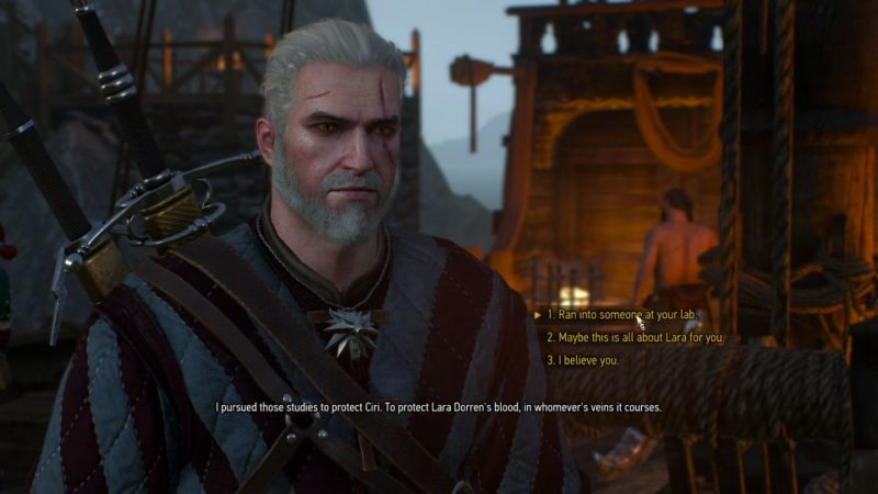 the witcher 3 - battle preparations walkthrough