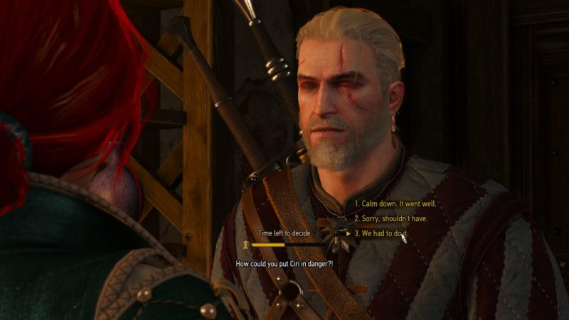 the witcher 3 - blindingly obvious quest
