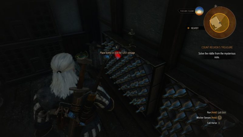 the witcher 3 - count reuven's treasure help