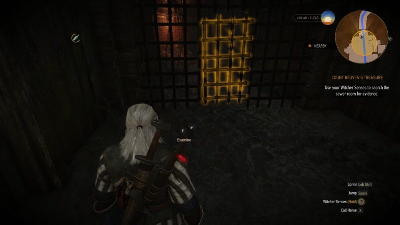 the witcher 3 - count reuven's treasure walkthrough