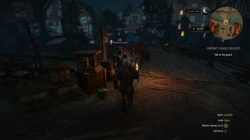 the witcher 3 deadly delights quest