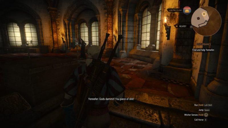 the witcher 3 - disturbance quest