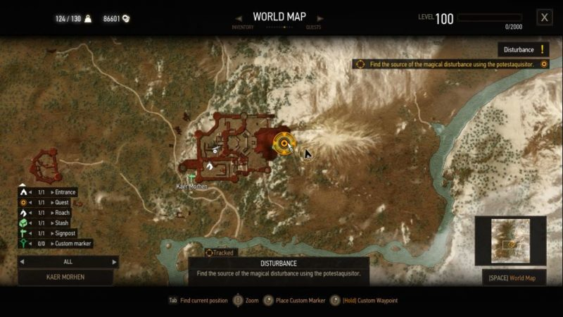 the witcher 3 - disturbance quest guide