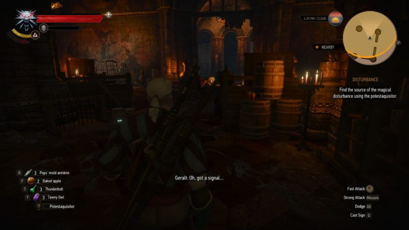 the witcher 3 - disturbance walkthrough