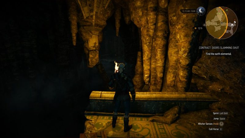 the witcher 3 - doors slamming shut how to open door