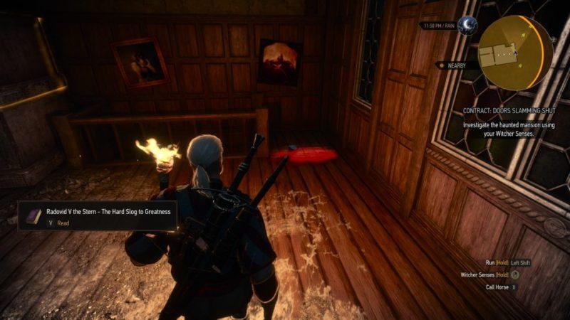 the witcher 3 - doors slamming shut quest
