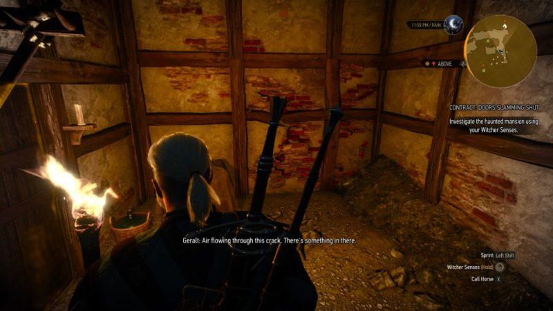 the witcher 3 - doors slamming shut quest guide