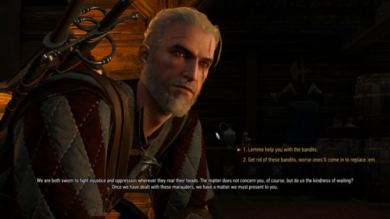 the witcher 3 - envoys, wineboys blood and wine