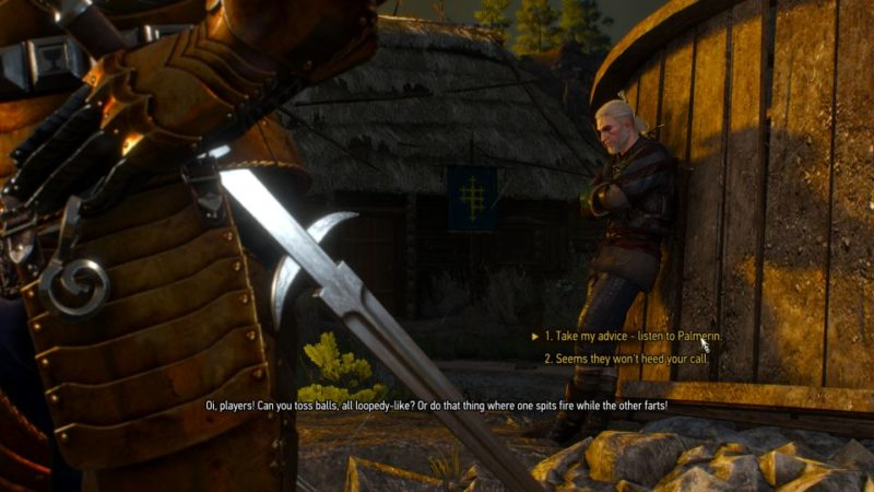 the witcher 3 - envoys, wineboys walkthrough