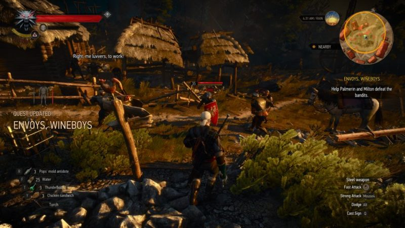 the witcher 3 - envoys, wineboys wiki