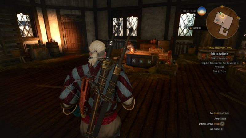 the witcher 3 - final preparations quest