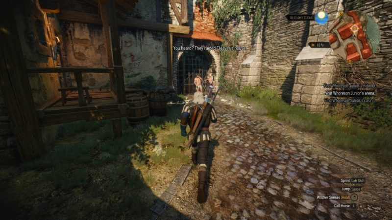 the witcher 3 - get junior walkthrough