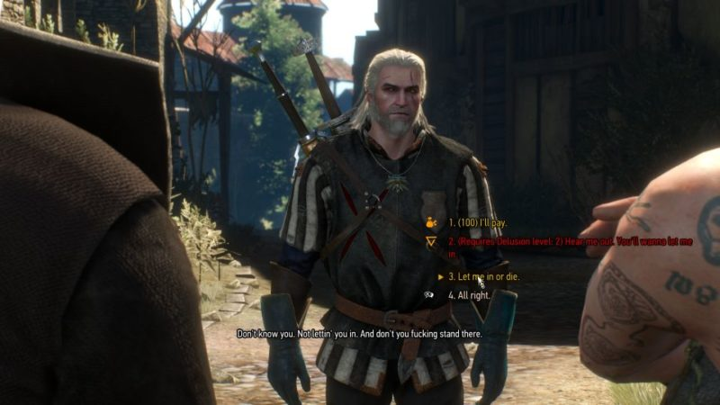 the witcher 3 - get junior walkthrough and guide
