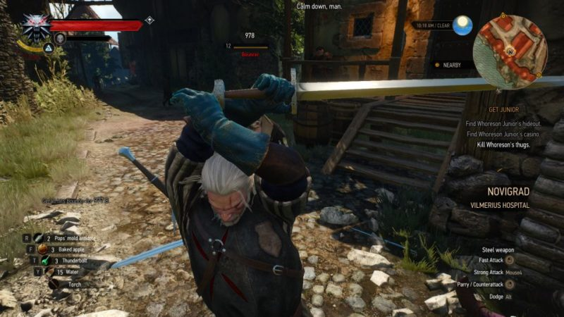 the witcher 3 - get junior wiki