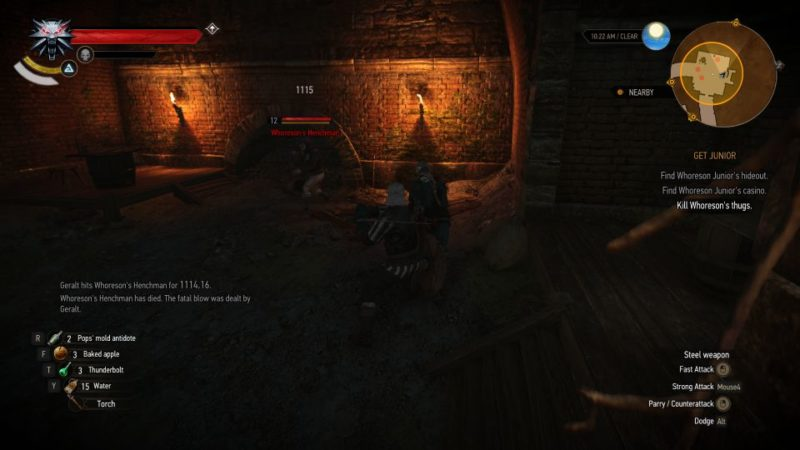 the witcher 3 - get junior wiki and guide