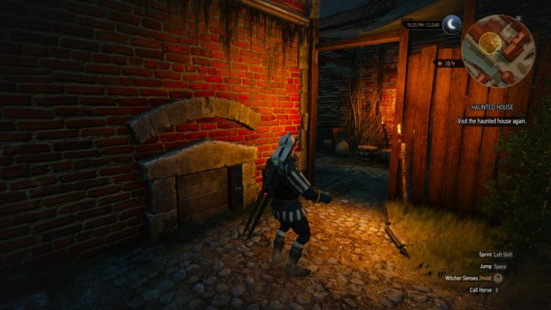 the witcher 3 - haunted house quest