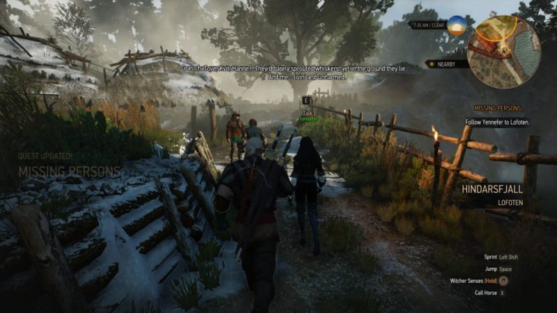 the witcher 3 - missing persons walkthrough