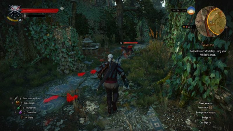 the witcher 3 - nameless guide
