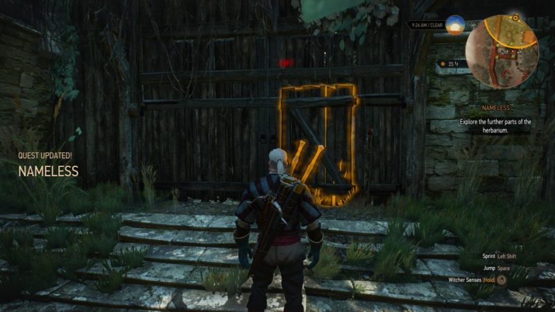 the witcher 3 - nameless quest