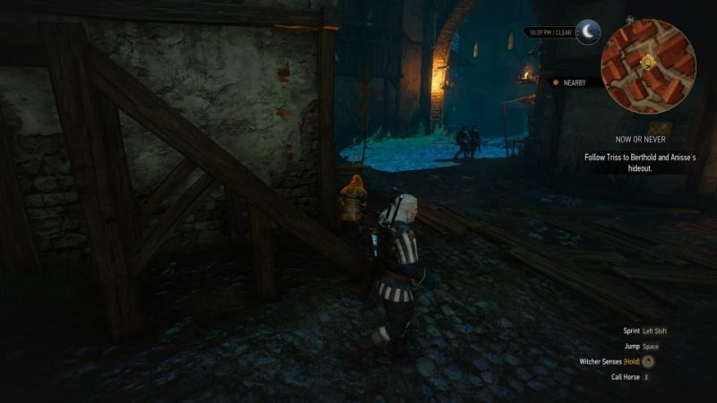 the witcher 3 - now or never quest walkthrough