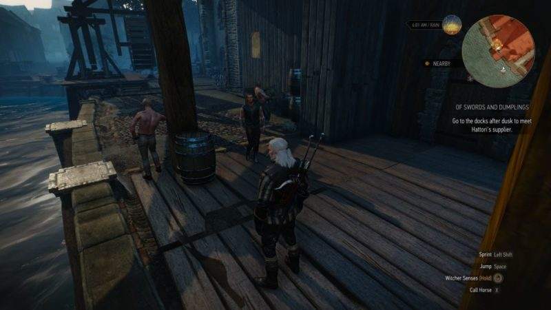 the witcher 3 - of swords and dumplings guide and tips