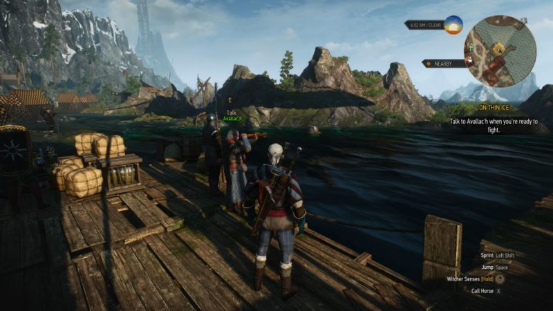 the witcher 3 - on thin ice guide