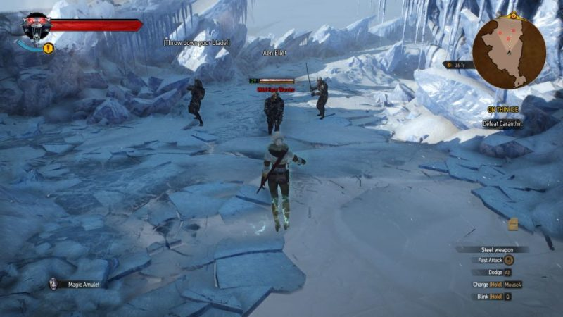 the witcher 3 - on thin ice quest
