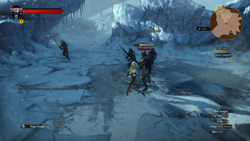 the witcher 3 - on thin ice quest guide