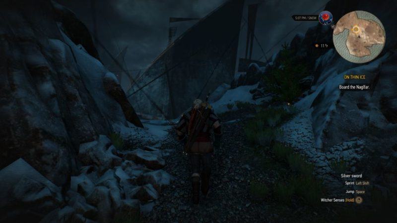 the witcher 3 - on thin ice tips