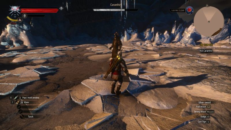 the witcher 3 - on thin ice quest walkthrough