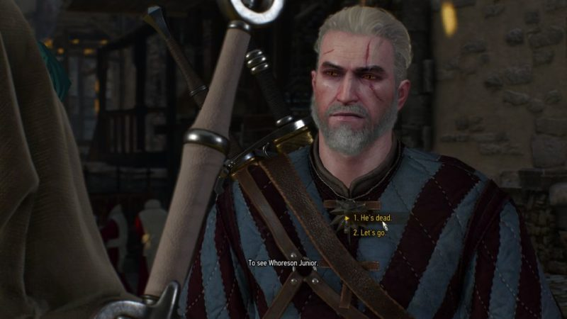 the witcher 3 - payback quest