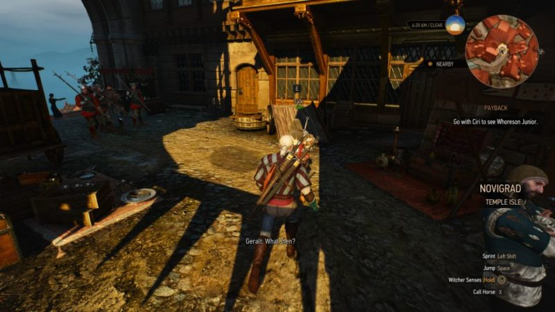 the witcher 3 - payback quest walkthrough