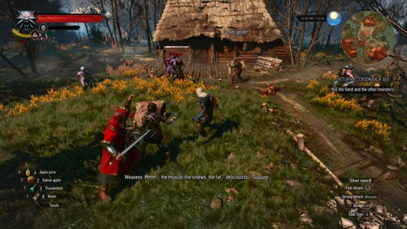 the witcher 3 - return to crookback bog wiki