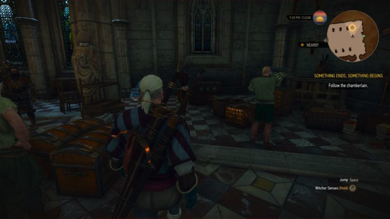 the witcher 3 - something ends, something begins guide