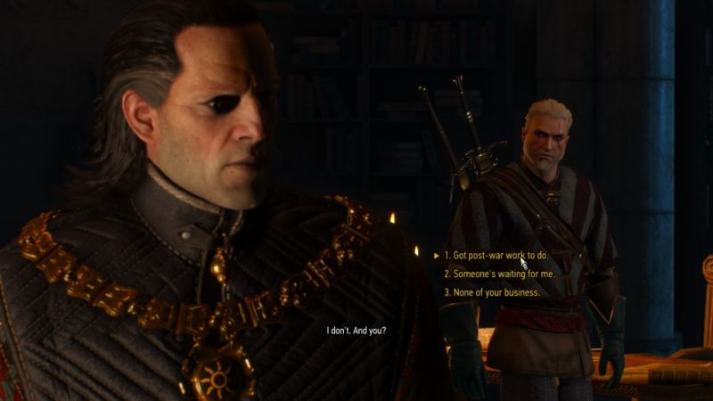 the witcher 3 - something ends, something begins quest guide