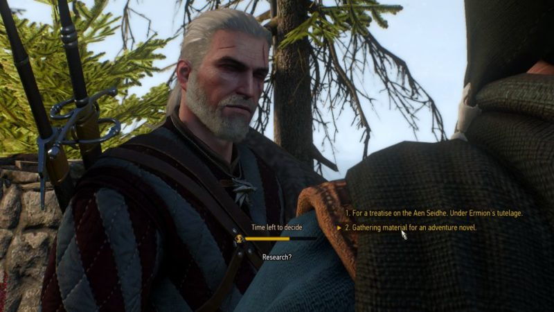 the witcher 3 - sunstone - talk to bard