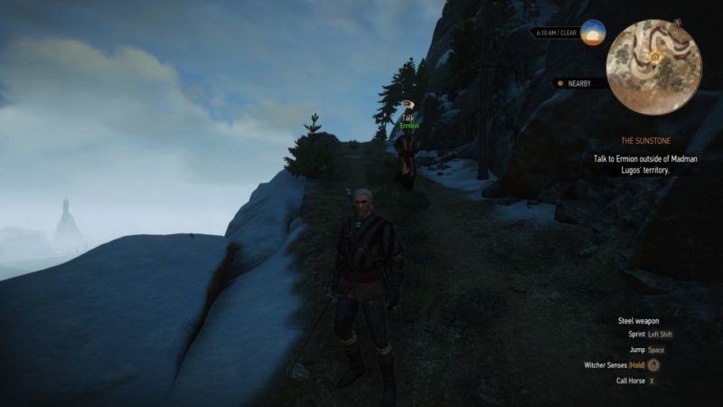 the witcher 3 - sunstone walkthrough and guide