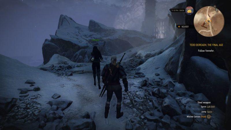 the witcher 3 - tedd deireadh, the final age quest walkthrough