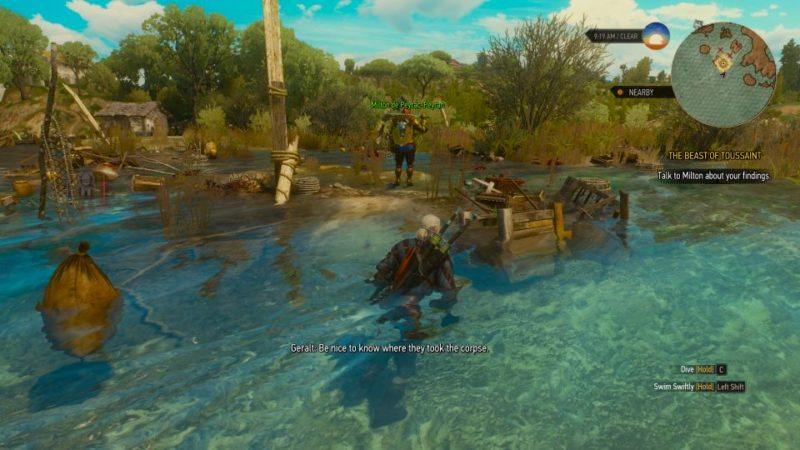 the witcher 3 - the beast of touissant tips