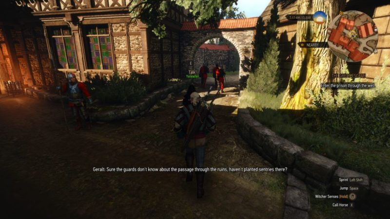 the witcher 3 - the great escape tips
