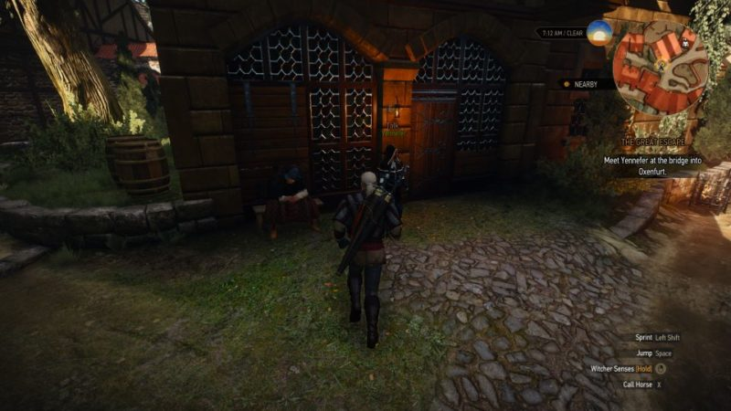 the witcher 3 - the great escape wiki