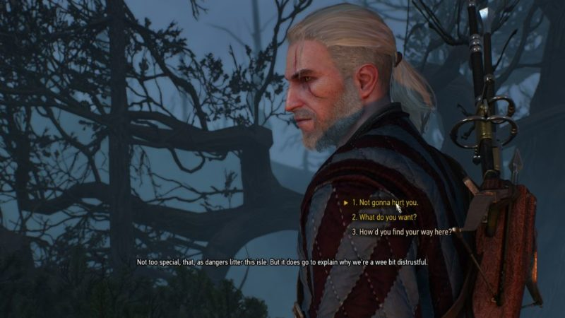 the witcher 3 - the isle of mists tips