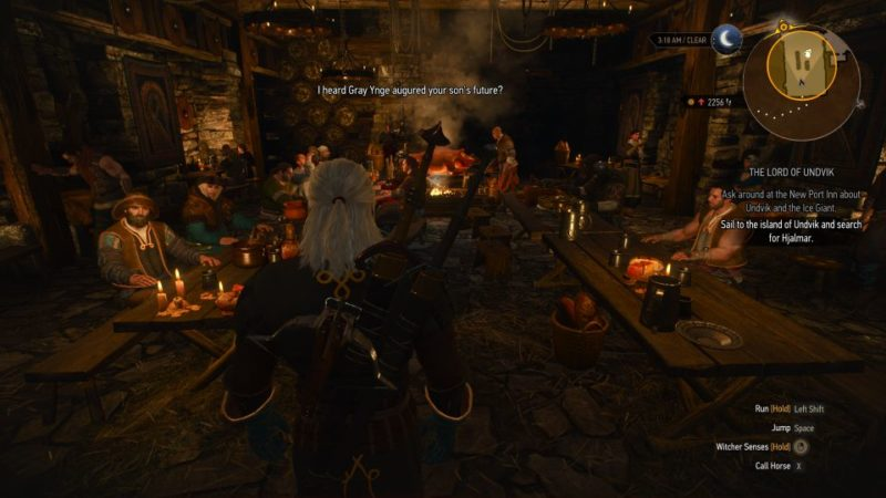 the witcher 3 - the lord of undvik guide and tips