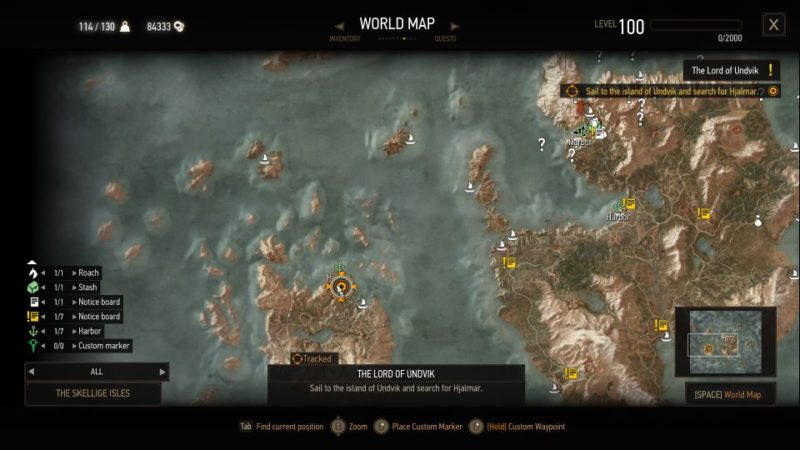 the witcher 3 - the lord of undvik quest guide