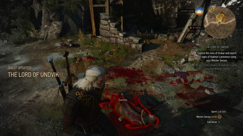 the witcher 3 - the lord of undvik tips